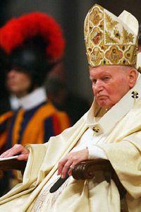 Pope John Paul II suffered from Parkinson's disease.