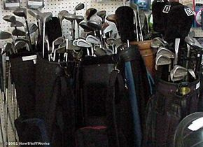 For a beginning golfer, or for the golfer with a discriminating eye, pawnshops can give great deals on clubs.