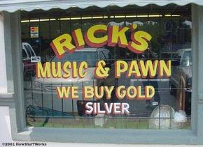 Pawnshops can be found in nearly every town, big or small. See more debt pictures.