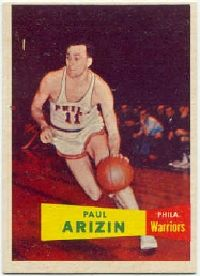 Paul Arizin was known as one of the greatest shooters of his generation. See more pictures of basketball.