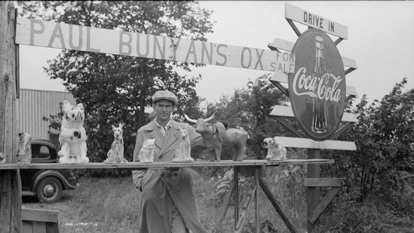 Paul Bunyan roadside stand