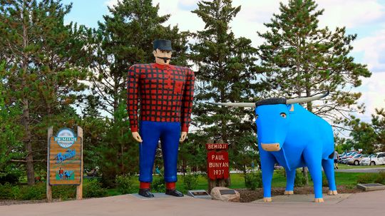 Was There a Real Paul Bunyan?