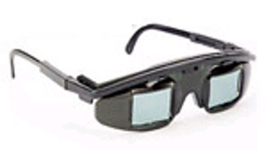 How 3-D PC Glasses Work