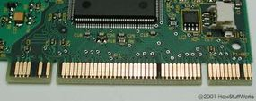 PCI cards use 47 pins.