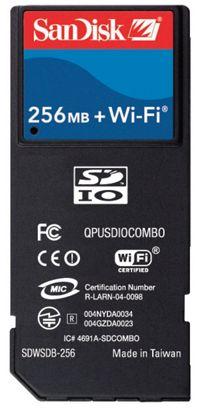 SanDisk 256 MB Secure Digital Card