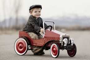 Most hospitals lump pedal car accidents in with bicycles and tricycles for injury reports — and there are a lot more kids on bikes than there are kids in pedal cars.