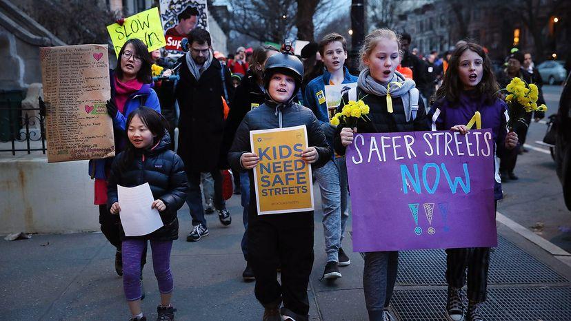 safe street protest