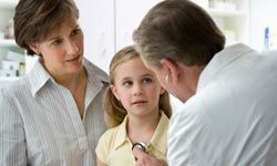 Answering the pediatrician's questions completely and honestly is in the best interest of your child and her health.