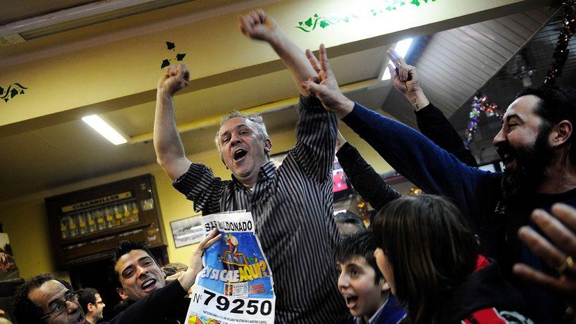 El Gordo celebration