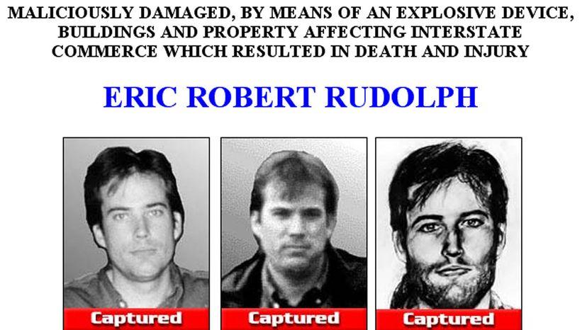 FBI poster, Eric Rudolph