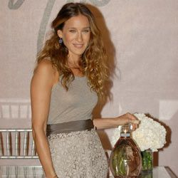 Sarah Jessica Parker at the launch of her fragrance Lovely back in 2006.