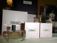 Lucky Emmy award winners were gifted with Prada perfume in 2004.