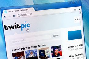 Twitpic lets you incorporate links to photos in your tweets without taking up too much space in your character count.