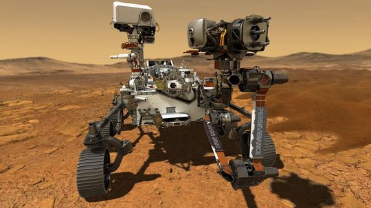 Perseverance Rover to Search for Signs of Ancient Martian Life
