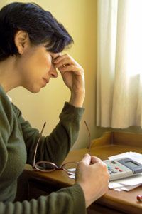 Creating a budget can be stressful, but failing to create a budget is likely to be even more so. See debt pictures.