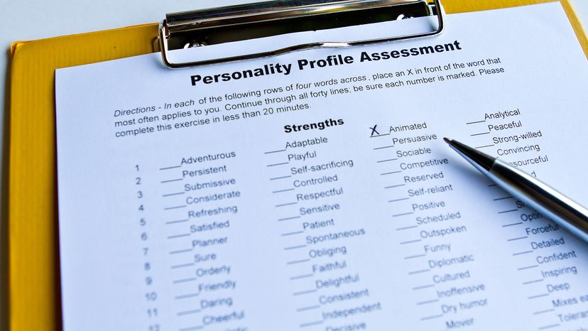 Personality tests are no new invention, but they're a lot different today than they were thousands of years ago. sinseeho/iStock/Thinkstock
