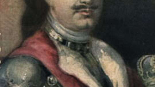 What was in Peter the Great's cabinet of curiosities?