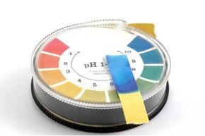 You can use pH-Paper or litmus paper to find out the pH of your cleansers.