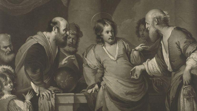 Jesus Christ and Pharisees