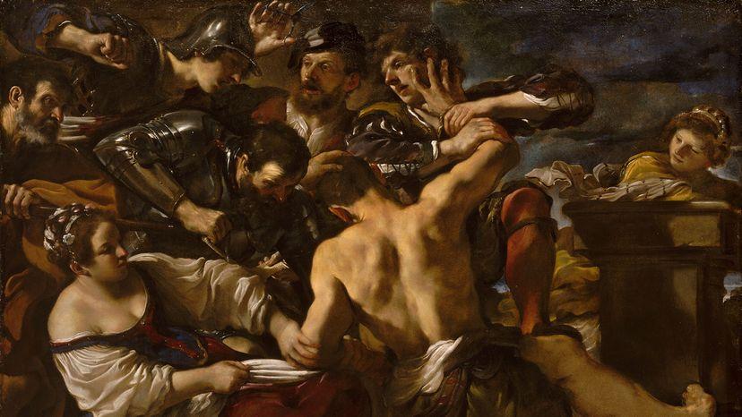 Samson Captured by the Philistines