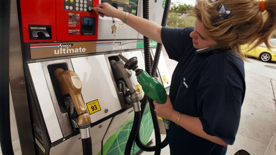 Will using a cell phone at a gas pump make it explode?