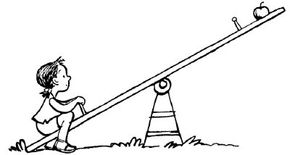 Explore physics on the playground with the See-Saw Balance physics activity.