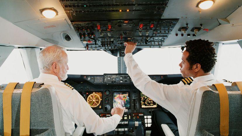 copilots in cockpit