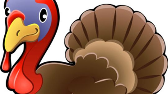 Pin the Tail on the Turkey Game