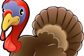 Help the turkey get his tail feathers back with this fun game.