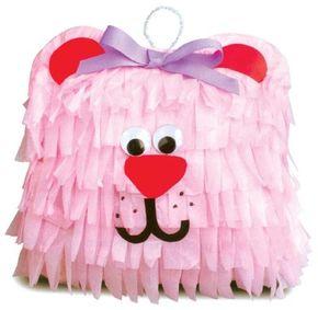 Make the pink party pinata.