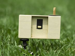 A simple pinhole camera. See more pictures of cool camera stuff.
