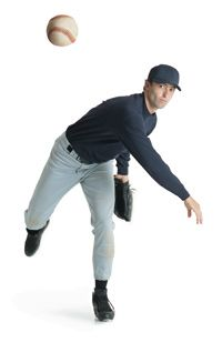 The secret behind the curveball is the spinning action created when the pitcher releases the ball.