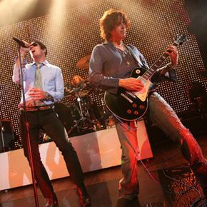 Any celebrity, A-list or D-list, adds interest to a charity event. Here, members of Stone Temple Pilots perform at the St. Jude Rock 'n' Roll Hope Show in West Hollywood, Calif.