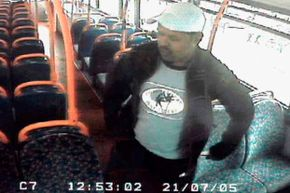 Back in 2005, Scotland Yard issued a CCTV image of Muktar Said Ibrahim on a London bus. He was wanted for questioning in connection with attacks on three tube trains and a bus on July 21, 2005.