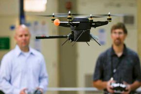 Drones like this one might be coming to a hiking tail near you.