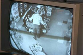 One place that is well-known for having security cameras is a retail store.