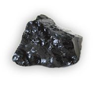 Air-cooled slag forms rocks like this