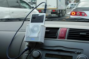 If you're worried about your iPod sliding around your car and getting scratched, it might be a good idea to get a mount to keep it in place.