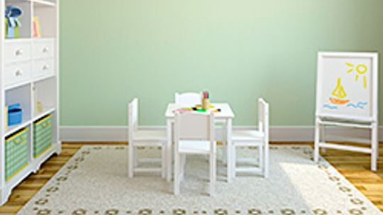 Trends in Playroom Decor