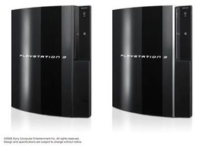 The 20GB and 60GB PlayStation 3 models.