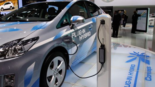 What is the plug-in electric vehicle credit?