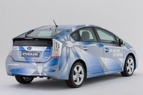 The Toyota Prius plug-in hybrid demonstration program vehicle
