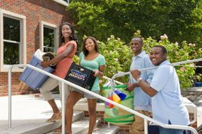 Parents can help their children with their college expenses by applying for a PLUS loan. See more college pictures.