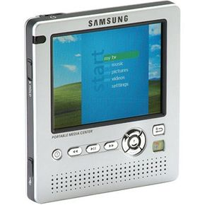 The Samsung Yepp YH-999 PMC can store 20 GB of music, movies and photos.