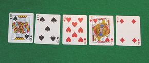 """This hand has nothing. If the player were to take this hand all the way to the showdown without folding, the hand would be called """"King High."""""""