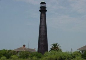 The Point Bolivar lighthouse has acted as a shelter for the residents of Galveston during deadly hurricanes. See more lighthouse pictures.
