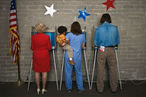 Do parents pass down their political views to their children? See election memorabilia pictures.