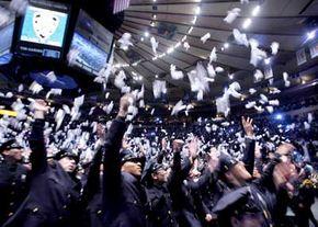 NYPD Police Academy graduation