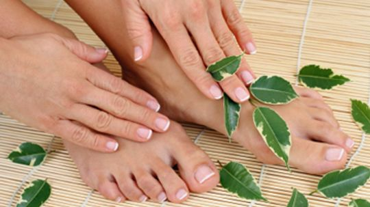 Why does nail polish turn your nails yellow?