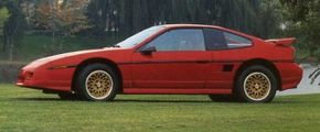 """Originally proposed as a """"commuter car,"""" the Pontiac Fiero                              gained new life as a sports car in the 1980s.                                            See more pictures of sports cars."""